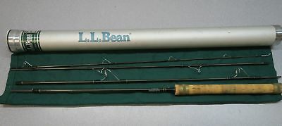 LL Bean ~ Double L Fly Rod, 8 ~ 4 Piece - 3.5 oz. weight ~ COMPLETE METAL CASE
