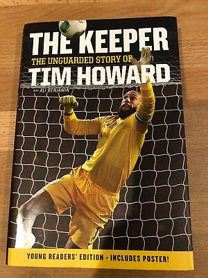 Tim Howard The Keeper Autograph Signed Book Auto Soccer Usa