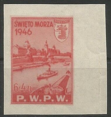 Poland,1946,Project,Essey issued by P.W.P.W,MNH,Very Scare,2
