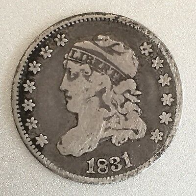 1831 H10C Capped Bust Half Dime - Nearly 200 years OLD