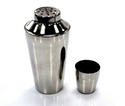 Stainless Steel Cocktail Shaker - 24 oz - Bar/Pub Drink Mixology Tool