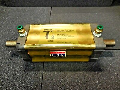 """Turn Act 131-121-00 Rotary Actuator (Gold Seal Series, Prestolok 1/4"""" Fittings)"""