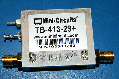 Mini-Circuits TB-413-29+ Attenuator 12V, 15dB Gain)