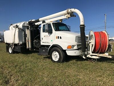 2000 Sterling Vac Truck Sewer Cleaner