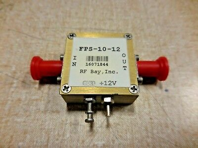 RF Bay Inc.FPS-10-12 Frequenz Stechzirkel 12VDC, 0.1-12.5GHz, Sma 144dBc / Hz)