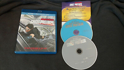 Mission Impossible: Ghost Protocol (Blu-ray/DVD, 2012) Tom Cruise