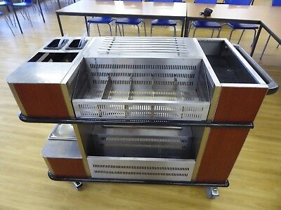 Commercial Catering Stainless Steel Trolley