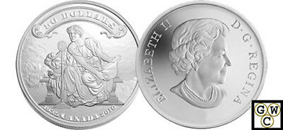 2010 5oz.Proof $50 '75th Ann. of the First Bankote' Fine Silver Coin (12678)OOAK