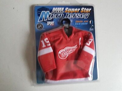 2005 Mini Hockey Jersey  NHL Collectible Series 1 Yzerman Detroit Red Wings