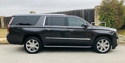 2016 Cadillac Escalade LUXURY LUXURY 4WD CELEB OWNED WARRANTY ONE OWNER NO ACCIDENTS IMMACULATE MUST SEE! ESV!