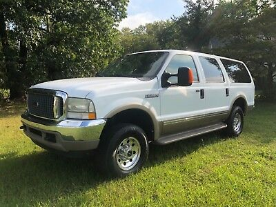 2002 Ford Excursion  02 FORD EXCURSION SUPER RARE RUST FREE 7.3 POWERSTROKE DIESEL LIMITED 4x4 WOW!!!