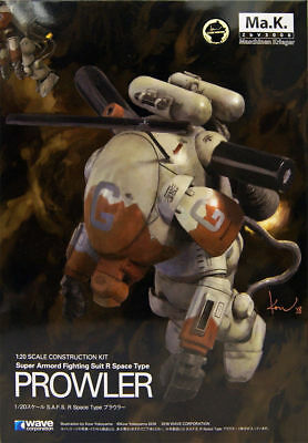 Wave Maschinen Krieger Ma.K. S.A.F.S. R Space Type Prowler 1/20 Model Kit USA