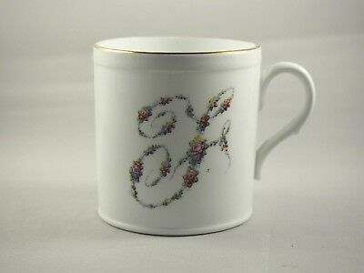 Shelley Late Foley China Cup Floral F Transfer With Gold Gilt Antique 1910-1916