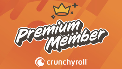 CRUNCHYROLL PREMIUM ACCOUNTS NO ADS |Message Delivery|