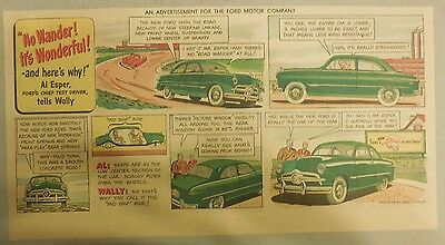 "Ford Ad: ""No Wonder It's Wonderful says Al Esper"" from 1940's"