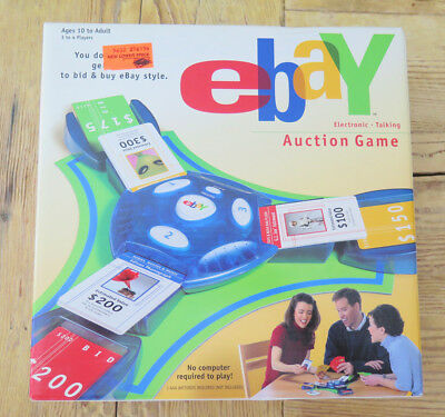 EBAY AUCTION GAME Electronic Talking New in Box Hasbro 2001 Sealed