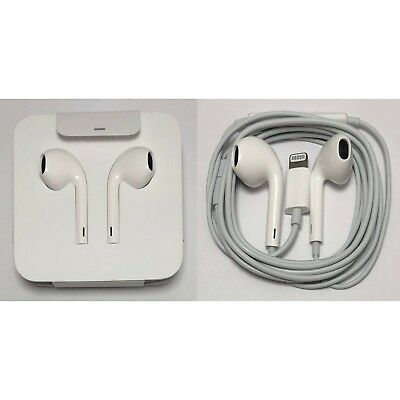 Apple - Wired Lightning EarPods Earbuds Headset For iPhone X XS Max XR 8 7 Plus
