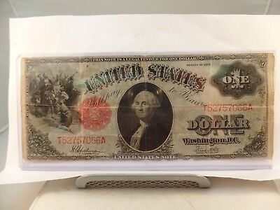 Series of 1917 ONE DOLLAR $1 U.S. Large Size Legal Tender NOTE/BILL