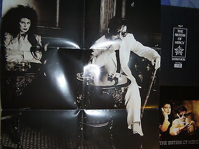Sisters Of Mercy Dominion LP limited Box + Poster sehr gut erhalten