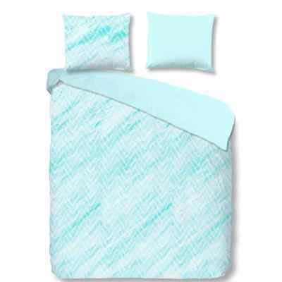 Good Morning Housse de couette 5738-A SHARON 240 x 200/ 220 cm Bleu