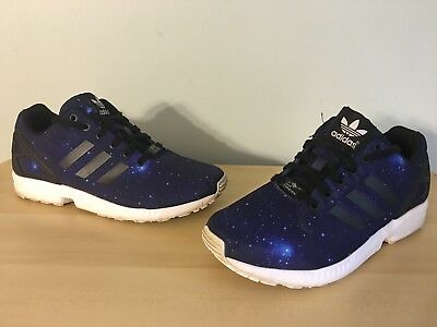 size 40 f92f1 40dbe ... italy adidas torsion zx flux mens size 8 blue galaxy running shoes  ea8d0 d1fc3