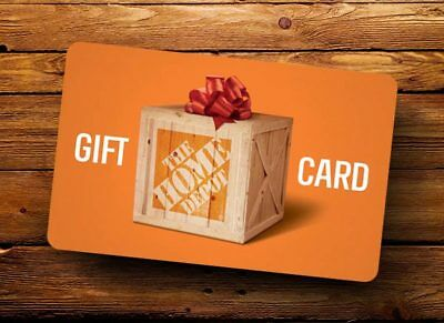 $200 Home Depot Gift Cards - (2) $100 cards