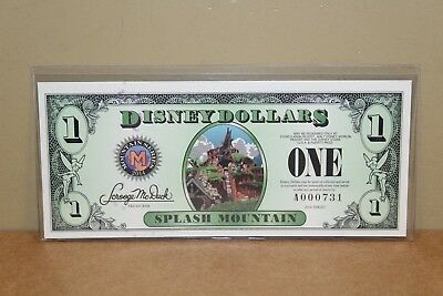 Disney Dollar Series 2014 Splash Mountain, Mickey Mouse - $1