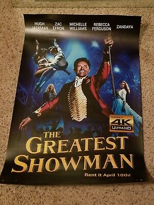 The Greatest Showman Theatrical Movie Poster
