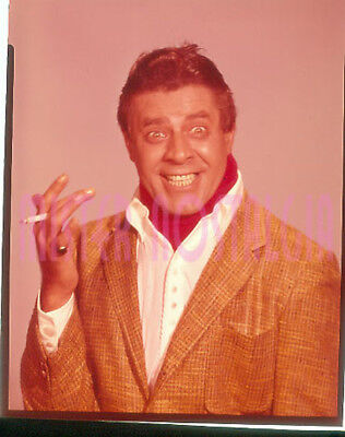 """Vintage Photo 1966 Jerry Lewis Three On A Couch 4x5"""" Color Transparency Slide #1"""