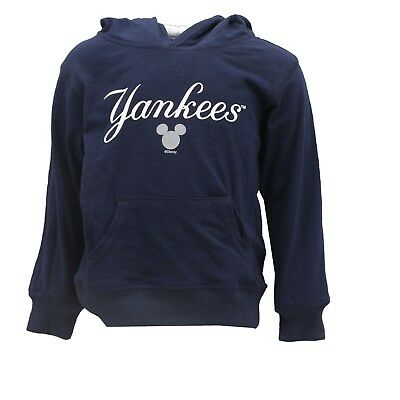 New York Yankees MLB Majestic Infant Toddler Size Light Hooded Disney Sweatshirt