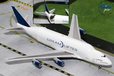 Gemini200 Boeing 747LCF Dreamlifter N747BC 1/200 G2BOE723 with stand and gear
