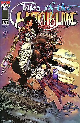 Tales Of The Witchblade #2 Signed By Artist David Finch