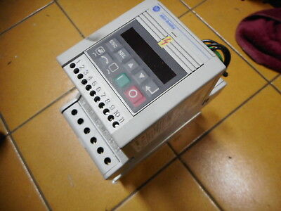 ALLEN BRADLEY AC SMART SPEED CONTROLLER -- Plus RFI Filter .55kW -- 160-BA02NPS1
