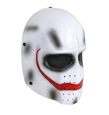 NEW Full Face Wire Mesh Protection Airsoft Paintball Skull Mask PROP Cosplay M68