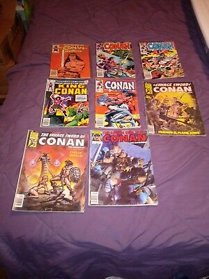 Conan comic book lot