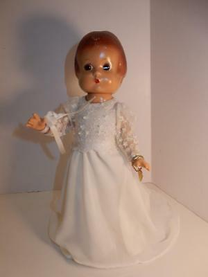"Reproduction Doll Of Antique Effanbee Patsy 13"" Bride Doll"