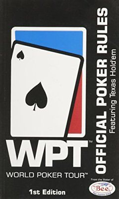 (Good)1889752282 WPT WORLD POKER TOUR (OFFICIAL POKER RULES FEATURING TEXAS HOLD