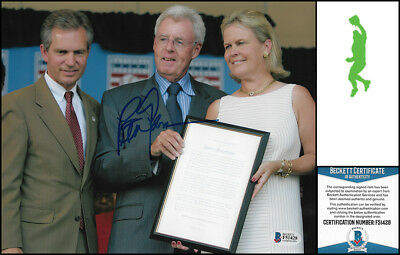 Peter Gammons Autographed Signed 8X10 Photo Picture Baseball Mlb Beckett Coa