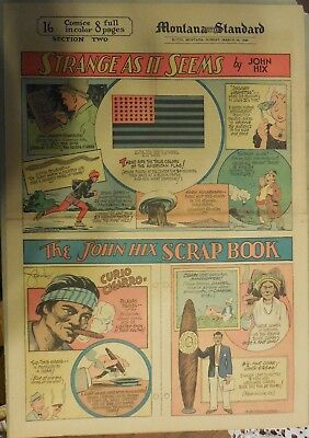 "Strange As It Seems: ""Cigar"" Memorabilia & Lore by Hix from 3/24/1940"