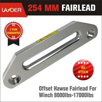 254mm Offset Alloy Winch Hawse Fairlead for Synthetic Dyneema Rope ARB TJM C0069