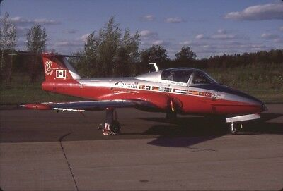 Original K64 Slide RCAF CT-114 114102 Special Big Red 2 anniversary 1995
