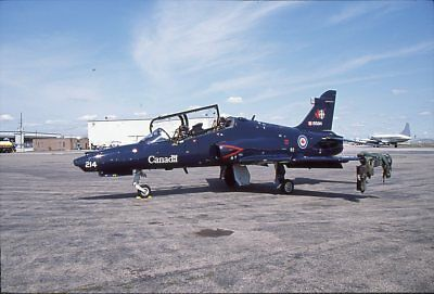 Original FUJI Slide RCAF CT-155 Hawk 155214 2CFFTS 2003