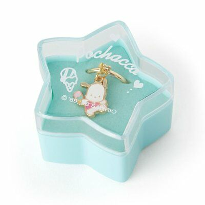 Pochacco Nostalgic Ring in Star-Shaped Case Sanrio Japan  Adjustable Size *NEW*