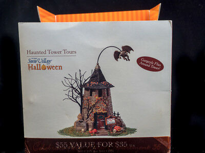 Dept. 56 Snow Village Haunted Tower Tours 2004-2006 See  Desc.