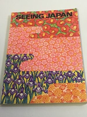 Vintage Seeing Japan The Mainichi  Newspapers Magazine Advertising Airline 1968