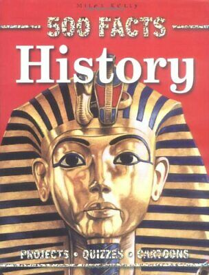 500 Facts History by Belinda Gallahger Paperback Book The Cheap Fast Free Post