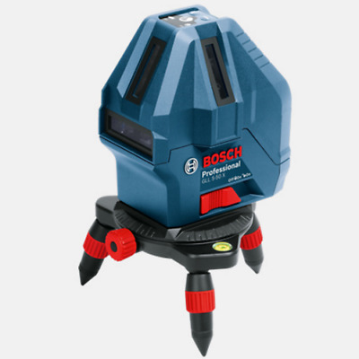 Bosch GLL 5-50X Professional Level Measure 5-Line Laser Tool Self-Leveling