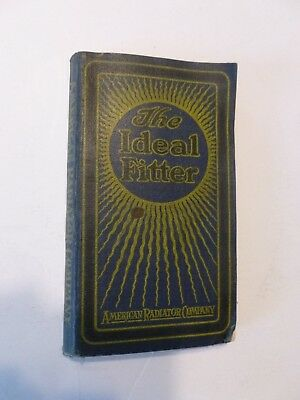 Vtg 1918 American Radiator Comp The Ideal Fitter Catalog Illustrated Heating