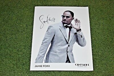 Autographed Jamie Foxx 8x10 Concert Photo - THE REAL DEAL !!!