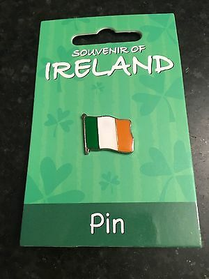 Ireland Flag Pin Tri-Color Metal Flag Lapel Pin